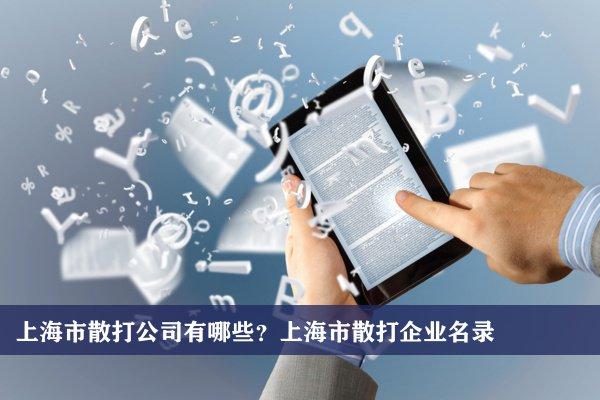 上海市散打公司有哪些?上海散打企业名录
