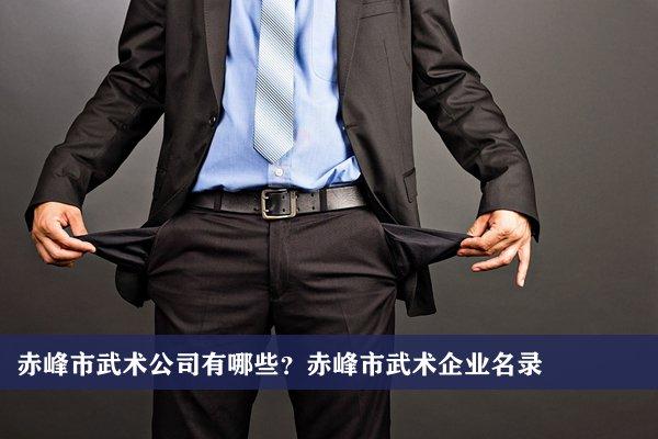 赤峰市武术公司有哪些?赤峰武术企业名录