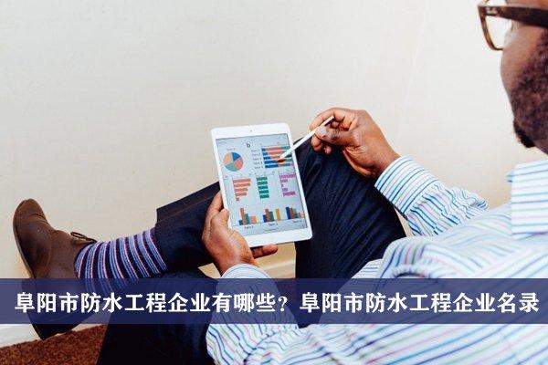 阜阳市防水工程公司有哪些?阜阳防水工程企业名录