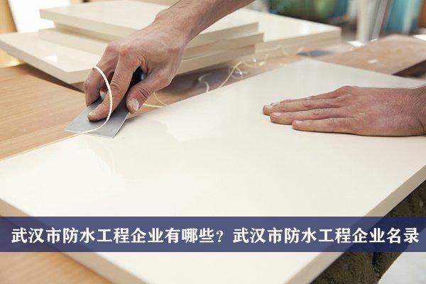 武汉市防水工程公司有哪些?武汉防水工程企业名录