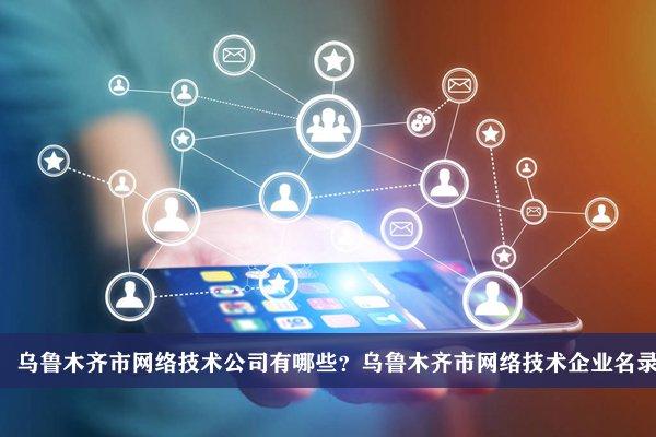 乌鲁木齐市网络技术公司有哪些?乌鲁木齐网络技术企业名录