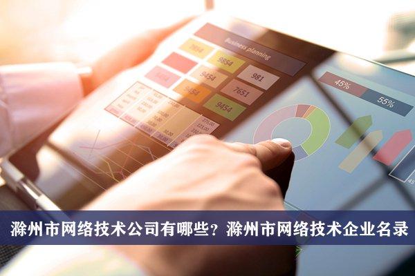 滁州市网络技术公司有哪些?滁州网络技术企业名录