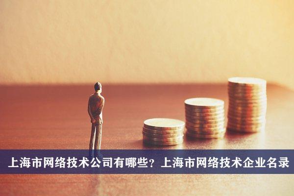 上海市网络技术公司有哪些?上海网络技术企业名录
