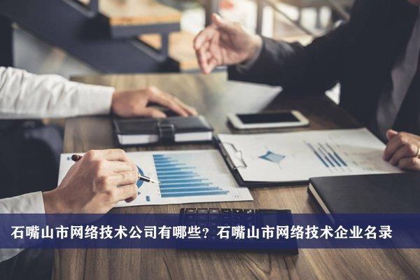 石嘴山市网络技术公司有哪些?石嘴山网络技术企业名录