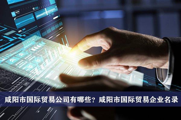 咸阳市国际贸易公司有哪些?咸阳国际贸易企业名录