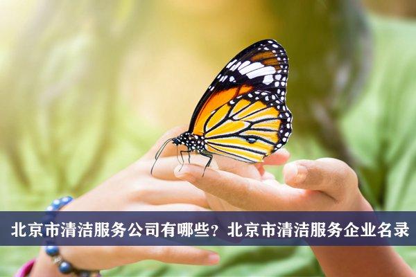 北京市清洁服务公司有哪些?北京清洁服务企业名录