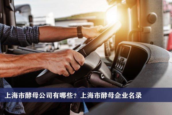上海市酵母公司有哪些?上海酵母企业名录