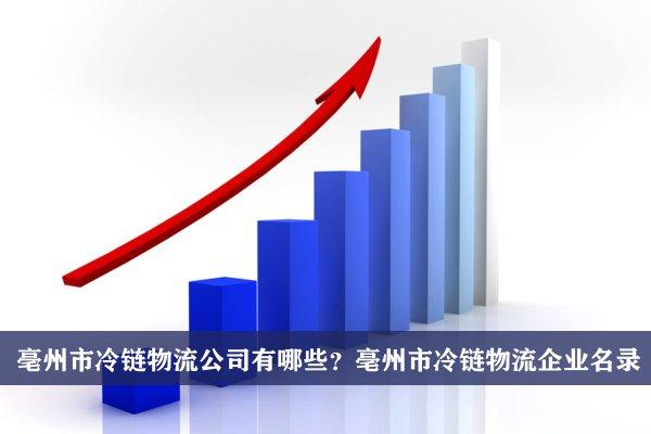 亳州市冷链物流公司有哪些?亳州冷链物流企业名录