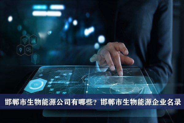 邯郸市生物能源公司有哪些?邯郸生物能源企业名录