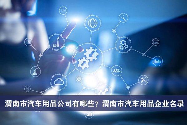 渭南市汽车用品公司有哪些?渭南汽车用品企业名录