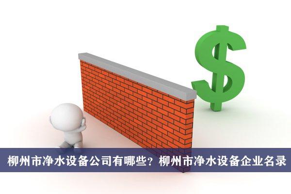 柳州市净水设备公司有哪些?柳州净水设备企业名录