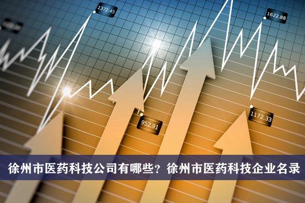 徐州市医药科技公司有哪些?徐州医药科技企业名录
