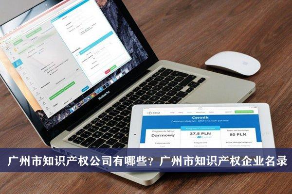 广州市知识产权公司有哪些?广州知识产权企业名录