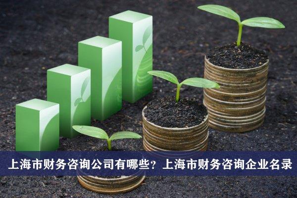 上海市財務咨詢公司有哪些?上海財務咨詢企業名錄