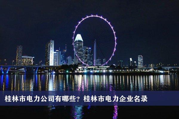 桂林市电力公司有哪些?桂林电力企业名录
