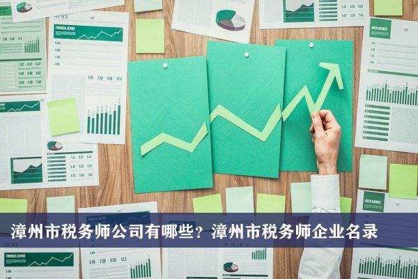 漳州市税务师公司有哪些?漳州税务师企业名录