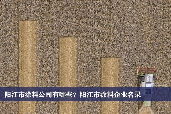 阳江市涂料公司有哪些?阳江涂料企业名录