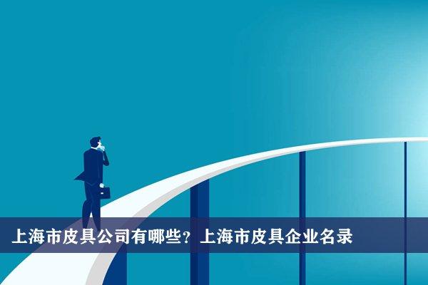 上海市皮具公司有哪些?上海皮具企业名录
