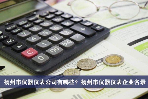 扬州市仪器仪表公司有哪些?扬州仪器仪表企业名录