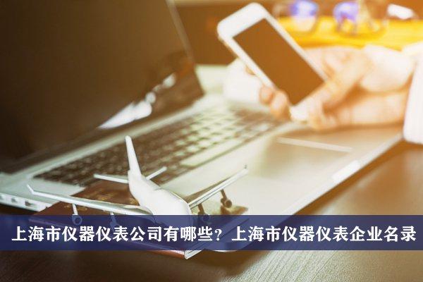 上海市儀器儀表公司有哪些?上海儀器儀表企業名錄