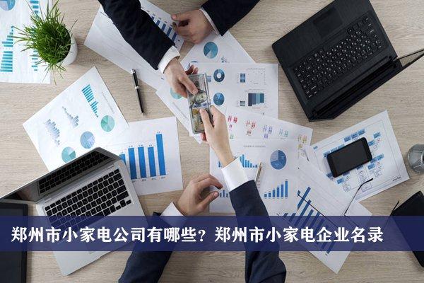 郑州市小家电公司有哪些?郑州小家电企业名录