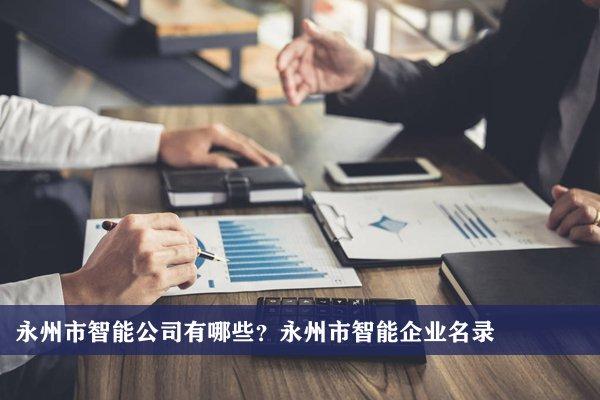 永州市智能公司有哪些?永州智能企业名录