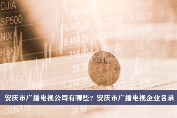 安庆市广播电视公司有哪些?安庆广播电视企业名录