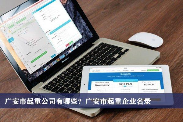 广安市起重公司有哪些?广安起重企业名录