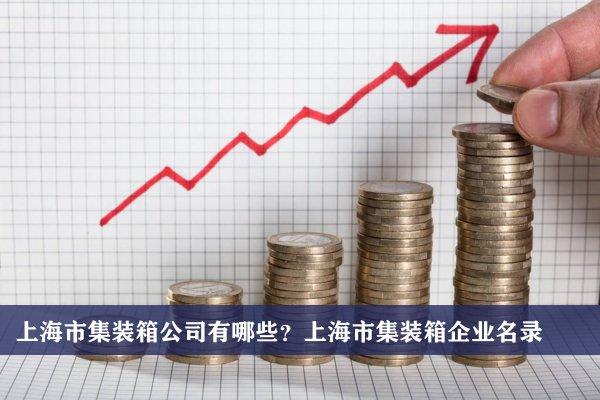上海市集装箱公司有哪些?上海集装箱企业名录