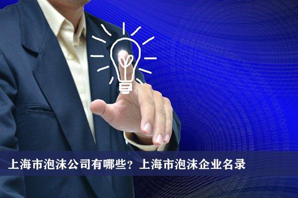 上海市泡沫公司有哪些?上海泡沫企業名錄