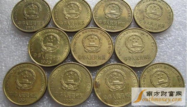 梅花5角硬币升值空间大吗?哪一年的梅花5角硬币最贵?